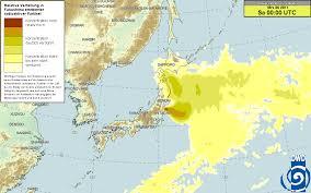 Fukushima Radiation Map 20 26 March 2011 Fukushima Radiation And Fallout Projections