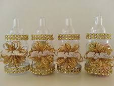 baby shower decorations 12 gold fillable bottles for baby shower favors prizes or