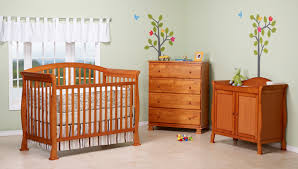 Convertible Crib Set Davinci Thompson Crib Set In Oak