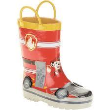Rainboots Paw Patrol Boys U0027 Rain Boot Walmart Com