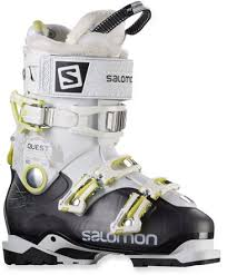 womens quest boots salomon quest access 80 ski boots s 2015 2016 rei com
