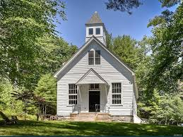 Homes Built Into Hillside A Classic One Room Schoolhouse For Sale In New York