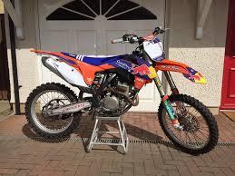 motocross bikes for sale scotland ktm sxf 250 2014 planet motocross race suspension in hawick