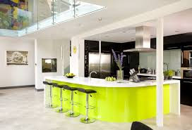 kitchen lime green shades for kitchen decor with led lighting