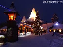 santa claus village and arctic circle line rovaniemi lapland finland