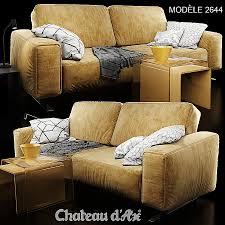 canap dax meuble tv chateau d ax unique sofa chateau dax 2644 mod le 3d in