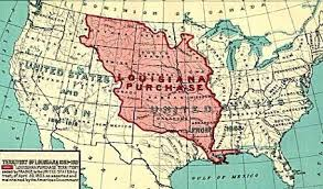 usa map louisiana purchase the louisiana purchase jefferson s constitutional gamble