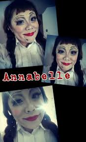 halloween scary doll makeup best 20 annabelle halloween ideas on pinterest