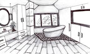 valuable inspiration 4 interior design drawings easy sketch