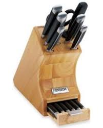 oneida kitchen knives winter deals on oneida pro series 14 side tang knife block set