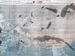 Cuban Map The Underwater Cuban Missile Crisis Soviet Submarines And The