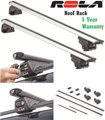 nissan pathfinder roof rails rola removable aluminum 165lbs roof rack cross bars 05 08 chevy