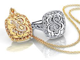 Monogram Rings Gold Love Letters Collection By Tacori Jewelry