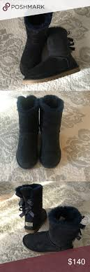 ugg bailey bow sale size 7 sale ugg bailey bow size 6 6 5 7can ware navy boot