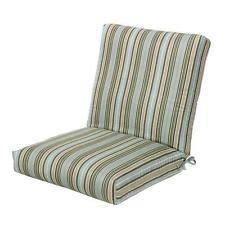 patio chair striped seat pads furniture cushions ebay