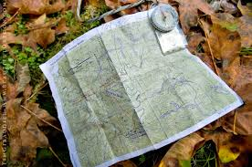 Compass Map Compass And Map Navigation Into Wasson Creek And Devils Staircase