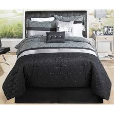 geo mesh hometrends geo mesh bedding comforter set walmart
