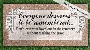 memorial markers temporary grave markers clark memorial funeral service roanoke