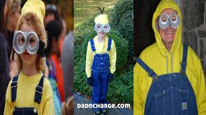 despicable me halloween costumes dadncharge diy minion costume