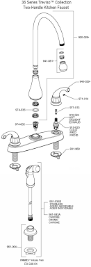 price pfister kitchen faucet parts diagram pfister kitchen faucet repair kit kitchen faucet