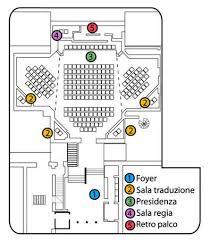 foyer traduzione auditorium via rieti roma