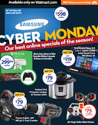 walmart thanksgiving day ad walmart releases all 2 000 cyber monday deals sunday night at 8