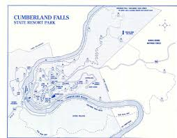 Caves In Tennessee Map by Cumberland Falls Kentucky