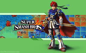 super smash bros wii u wallpapers roy wallpaper super smash bros wii u 3ds by alexthf on deviantart
