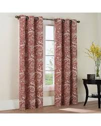 Paisley Curtains Sweet Deal On The Big One皰 Paisley 2 Pk Curtains