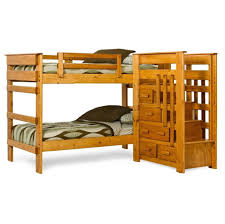 L Shaped Bunk Bed Plans Bedroom Triple L Shaped Bunk Beds With Large Drawers L Shaped