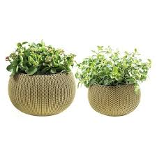 small planter knit cozy indoor outdoor decorative small medium planter set