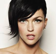 short haircut with one long side rihanna hairstyles 2015 long hair