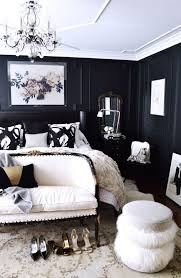 Black And White Room Decor 94 Best Black White Gold Bedroom Images On Pinterest Master With
