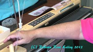 casting on and using the studio electronic knitting machines youtube