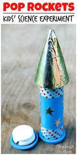 exploding pop rockets playdough to plato