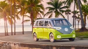 volkswagen hippie van is this a vw camper van for the 21st century cars uk
