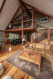 Log Home Interiors Best 25 Barn House Interiors Ideas On Pinterest Barn Homes