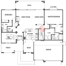 napa floorplan 2246 sq ft sun city lincoln hills 55places com