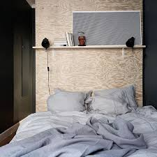 25 Easy Diy Bed Frame Projects To Upgrade Your Bedroom Homelovr by Best 25 Plywood Headboard Ideas On Pinterest Plywood Headboard