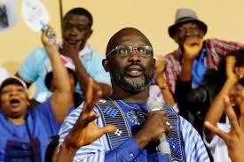 je vais au bureau liberia georges weah au sortir du bureau de vote je sais que je