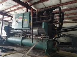 york 150 ton water cooled chiller american equipment group