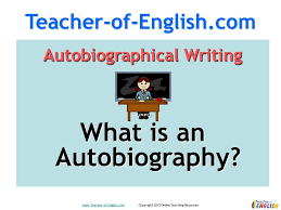 autobiography teaching resources powerpoint lessons youtube