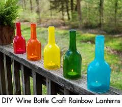 Upcycled Wine Bottles - 83 extremely fun and creative diy wine bottle crafts for kids