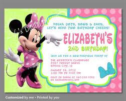minnie mouse invitations minnie mouse bowtique invitation