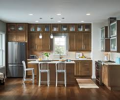 transitional kitchen design homecrest cabinetry