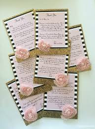 your own thank you cards design decoration
