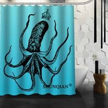 art shower curtain octopus reviews online shopping art shower