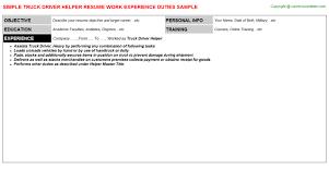 specimen resume ups driver helper resume specimen resume snapwit co sample