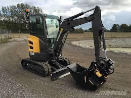 volvo usa used volvo ecr25d mini excavators u003c 7t mini diggers for sale