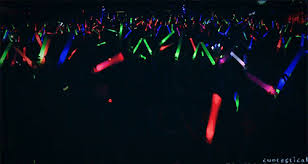 glow party supplies led foam sticks party glow lights 18 inch customized yolo party